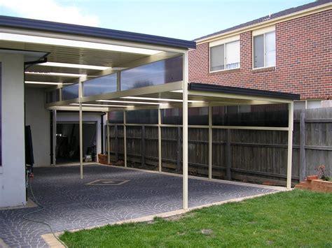 Flat Roof Carport Flat Roof Carport And Verandah Wholesalers