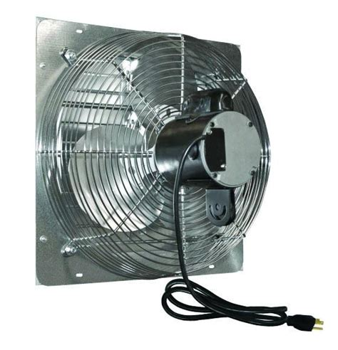 industrial fans direct com j d ves10c 10 quot shutter exhaust fan 630 cfm