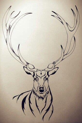 stag tattoos stag illustration design tattoos