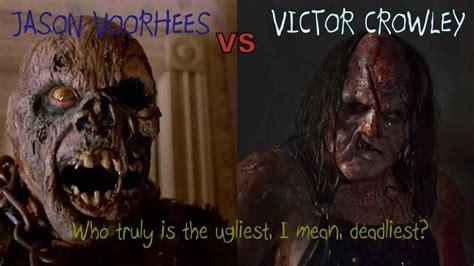 Jason Voorhees Meme - voorhees vs victor crowley deadliest killer wicked horror