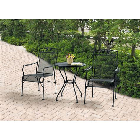 3 patio dining set alexandria crossing patio dining set seats walmart 3