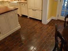 vinyl flooring that looks like brick kitchens pinterest