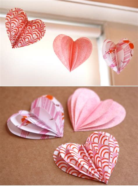 Valentines Day Paper Crafts - crafts with mums days