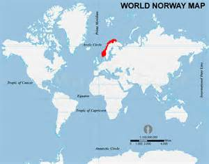 World Map Norway by Norway Location Map Location Map Of Norway