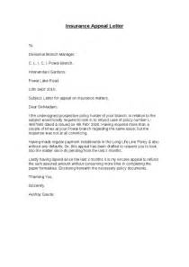 appeal template letter insurance appeal letter hashdoc