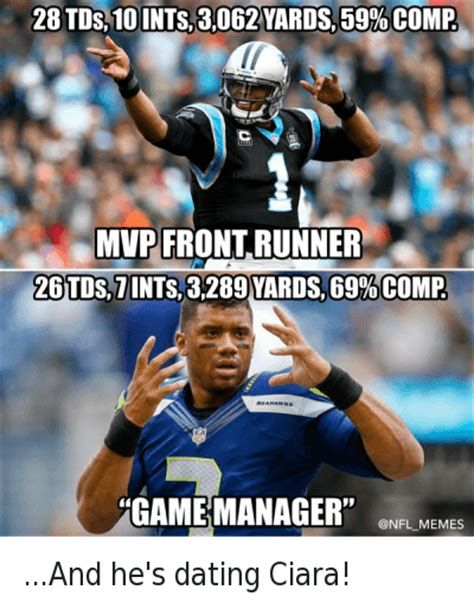 Cam Newton Memes - 4 funny ciara and football memes of 2016 on sizzle