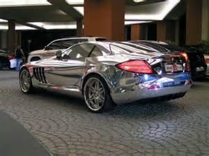 Chrome Mercedes Mph Magazine Chrome Mercedes Mclaren Slr