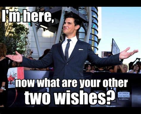 Taylor Lautner Meme - taylor lautner and robert pattinson memes