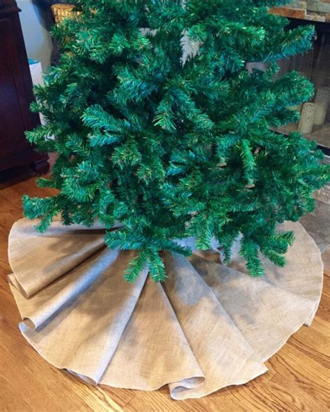burlap christmas tree skirt christmas tree skirt burlap