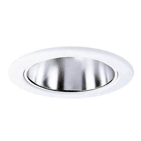 Ceiling Light Reflector Halo E26 Series 4 In Clear Recessed Ceiling Light Specular Reflector With White Trim Ring