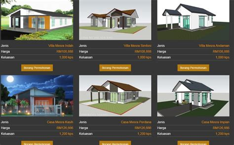 rumah mesra rakyat 1 malaysia subsidy up to rm 26 333 to build homes in malaysia