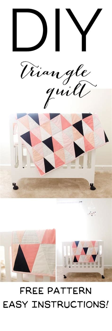 modern pattern works thane modern ombre b w triangle quilt tutorial pattern