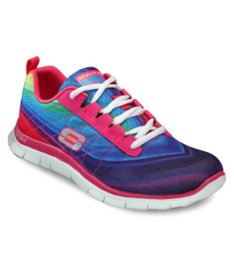 skechers multi color walking shoes price in india buy