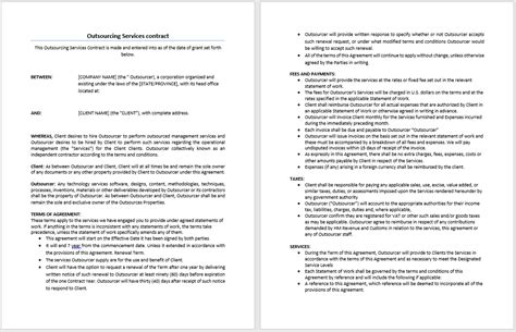 contract templates in word airporter1dillon s blogs