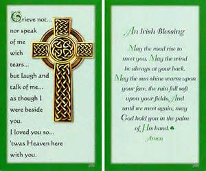 personalized memorial cards funeral cards prayer cards