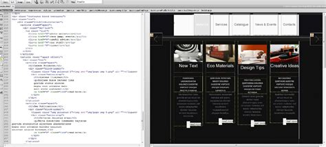 layout mode js js animated troubleshooter design modus in dreamweaver