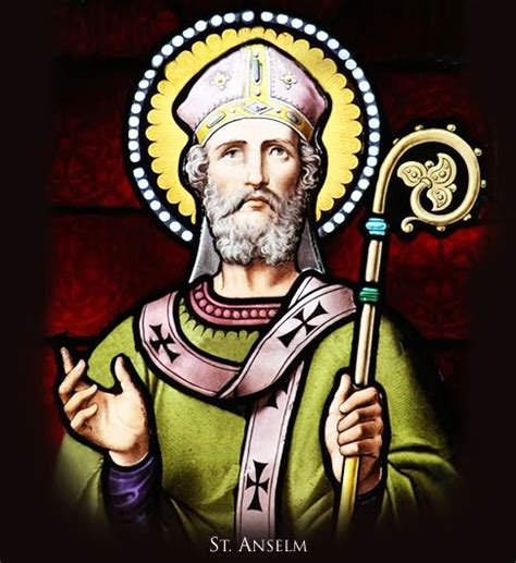 Anselm Of Canterbury the and mystery of and faith st anselm 1033