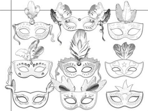 Printable Masquerade Masks