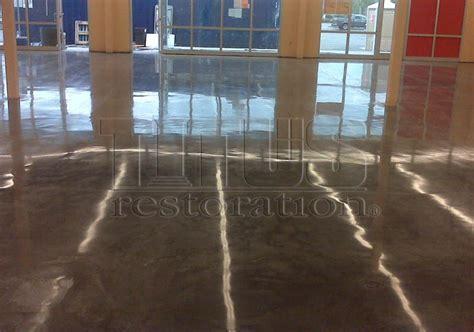 Concrete Discoloration   Titus Restoration