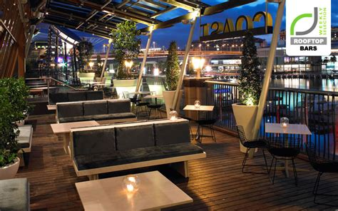 rooftop bars roof top bar at coast sydney retail design