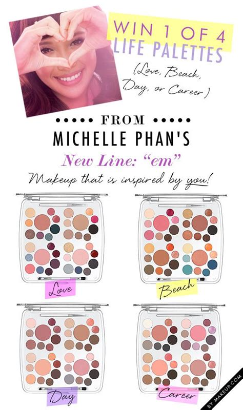 Michellephan Giveaway - em michelle phan life palette giveaway weddbook