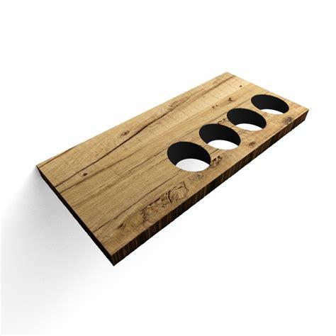 mensola portabottiglie mensola portabottiglie tailor in legno rovere antico