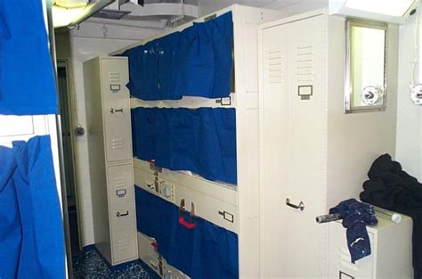 Navy Sleeping Racks by Did You Accidentally Walked In On Someone
