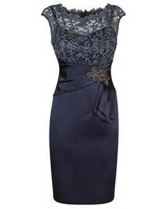 Twilight lurex lace and stretch satin dress with waist detail 599