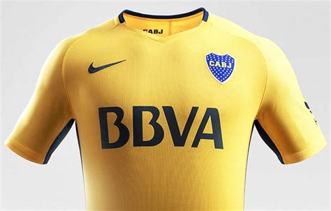boca juniors 2016 home kit released footy headlines boca juniors 17 18 home and away kits released footy