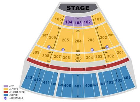 verizon theatre  grand prairie seating chart verizon
