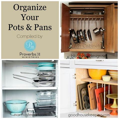 organize pots and pans pots and pans organizing pinterest