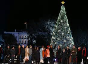 christmas 2012 obama family lights national christmas