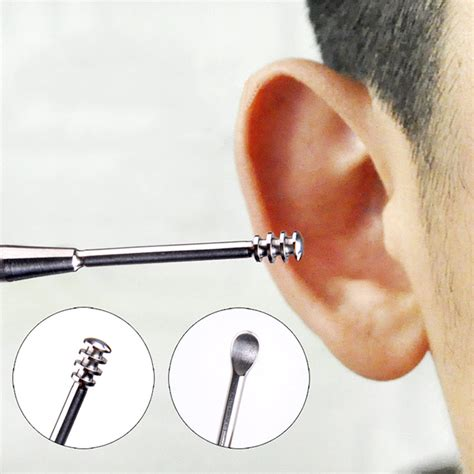 Alat Pembersih Lensa Kacamata Bahan Microfiber Bentuk Penjepit pembersih telinga korek kuping silver jakartanotebook
