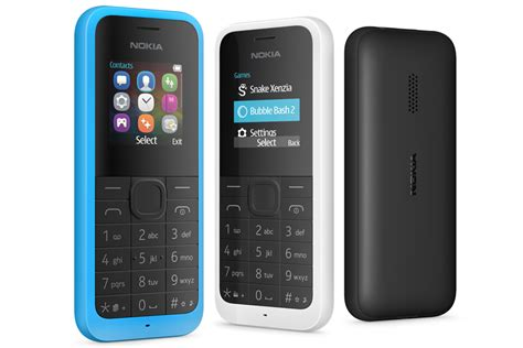 Hp Nokia Feature Phone nokia feature phones stage comeback with microsoft s new 20 nokia 105 cellphone