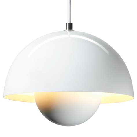 cool white modern flowerpot ceiling light 163 114 99