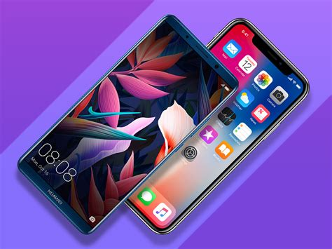 iphone v huawei huawei mate 10 pro vs apple iphone x which is best stuff