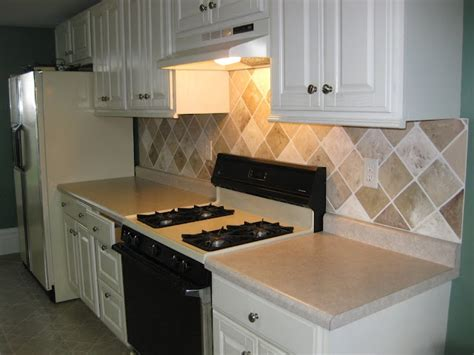 painted backsplash tutorial home ideas