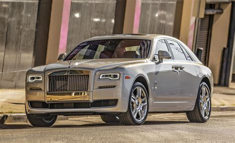 roll royce royce ghost car and driver