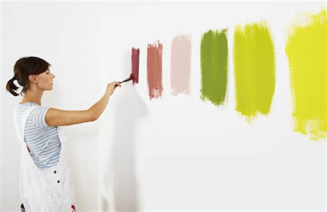 painting the walls the best and cheapest design tips for rented apartments