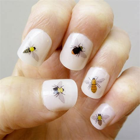 Koji Nail Stickers No 04 bee nail transfers by kate broughton