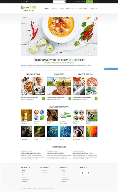 shopify themes for photographers demo for art photography shopify theme 51966