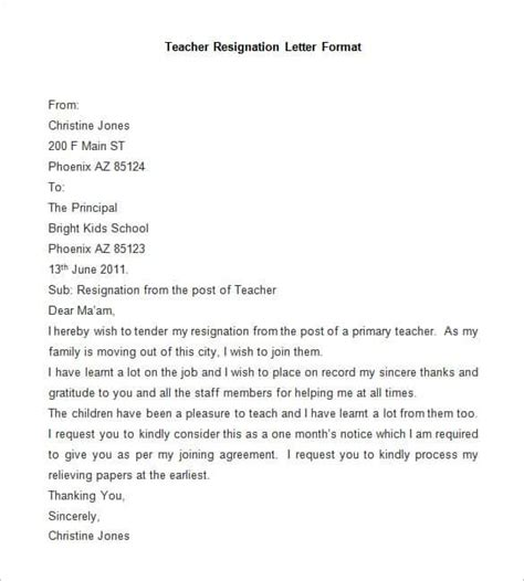 Resignation Letter Format Office Boy resignation letter the format of resignation letter