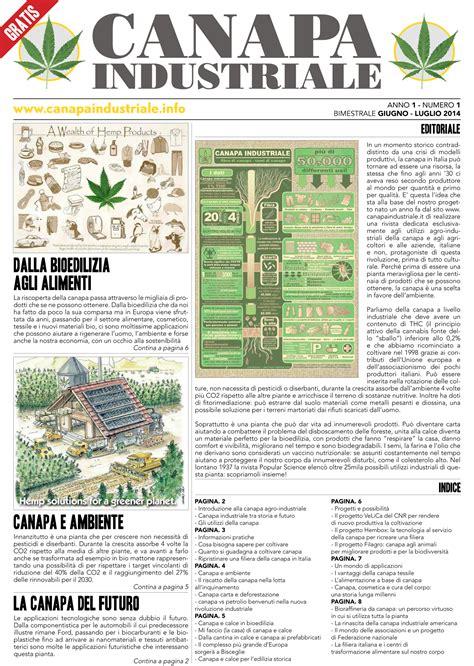 canapé italie canapa una nuova rivista per esplorare gli utilizzi agro