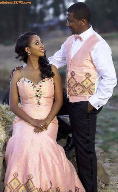 ethiopian traditional wedding clothes