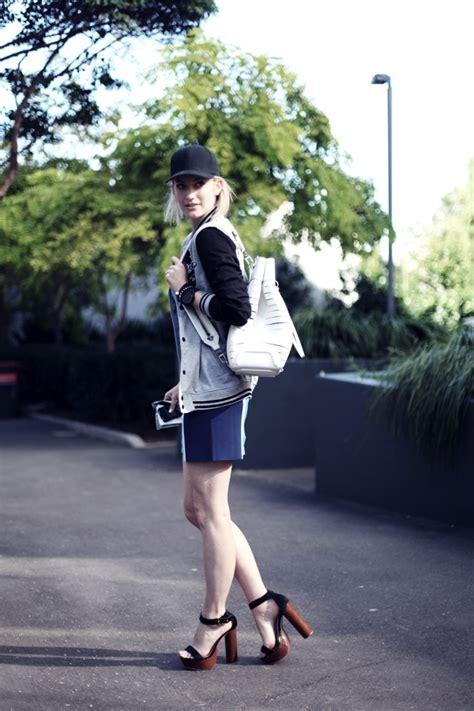 a touch of sport luxe cupcake fashion luxe athletics 8 great sporty street style looks