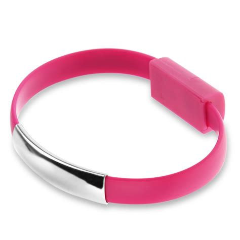Bracelet Micro USB Charger Charging Sync Data Cable Cord fr Android Smart Phones   eBay