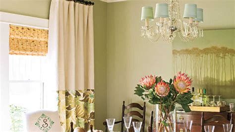 window treatments southern living layer window treatments stylish dining room decorating