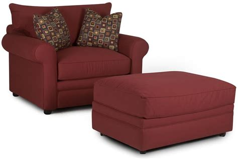 comfy ottoman klaussner comfy casual chair and ottoman olinde s