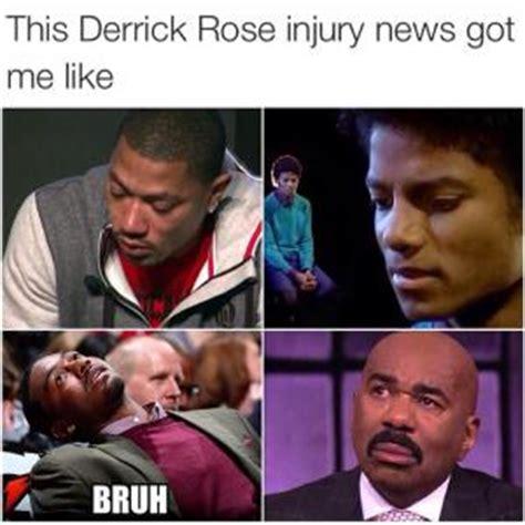 Derrick Rose Injury Meme - bruh meme kappit