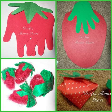 strawberry crafts for crafty friday fruit explorations strawberries